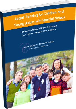 Legal Planning for Children and Young Adults with Special Needs