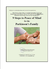 9 Steps to Peace of Mind for the Parkinson's Family