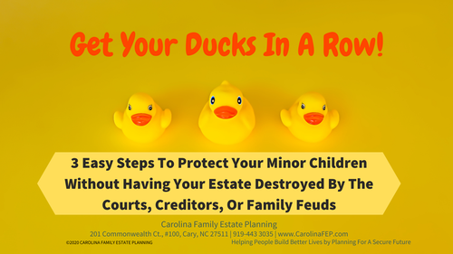 Attention Parents! 3 Easy Steps to Protect Your Minor Children